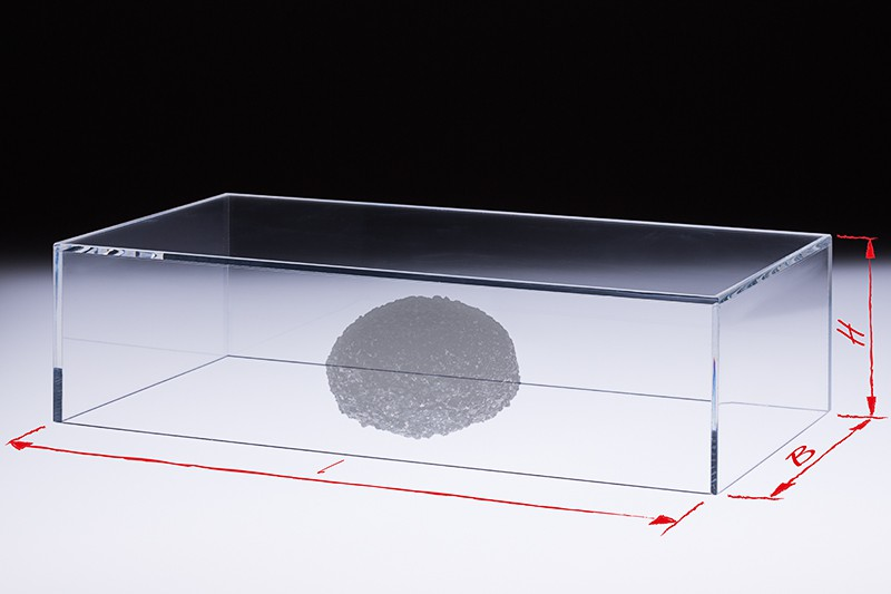 Plexiglas Vitrine Nach Mass Im Shop Acrylglas Vitrine Transparent