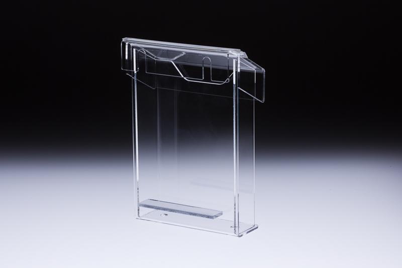 transparentdesign kunststoffe individuell gestalten produkt prospektspender a4 box aus 3mm. Black Bedroom Furniture Sets. Home Design Ideas